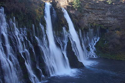 Photograph - Burney Falls by Michael Courtney