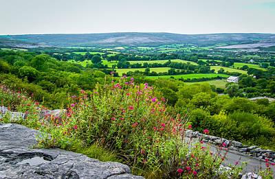Photograph - Burren National Park's Lovely Vistas by James Truett