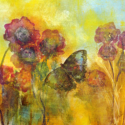 Intense Painting - Butterfly by Katie Black