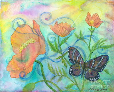 Butterfly Reclaimed Art Print
