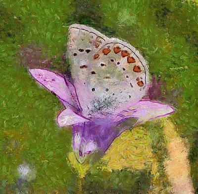 Digital Art - Butterfly by Yury Malkov
