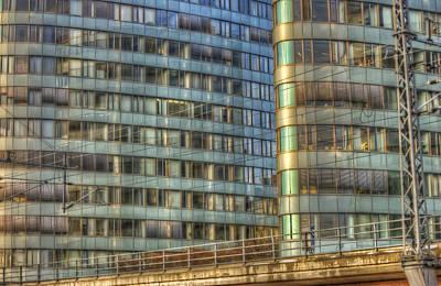 European City Digital Art - Bvg Building by Nathan Wright