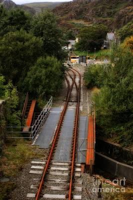 Photograph - Bwlch Y Gwynt Railroad In Wales by Doc Braham