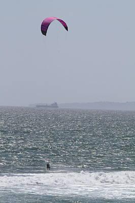 Sky Photograph - Ca Beach - 12125 by DC Photographer