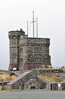 Cabot Tower. Newfoundland. Art Print by Fernando Barozza