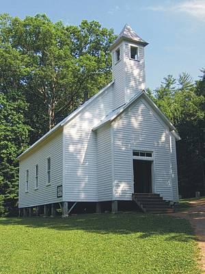 Photograph - Cades Cove Missionary Baptist Church by Joe Duket