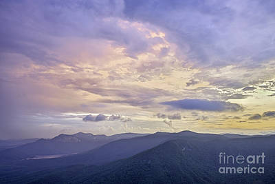 Photograph - Caesars Head Sunset by David Waldrop