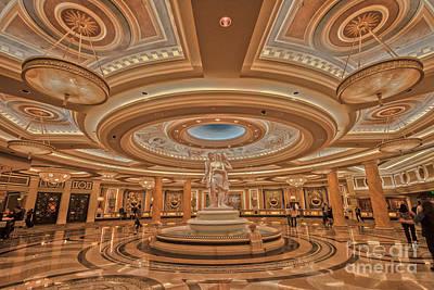 Caesars Palace Las Vegas Art Print