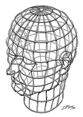Drawing - Cage by Boyan Donev