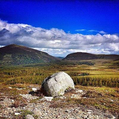 Landscapestyles Photograph - #cairngorms #scotland #scotlandlover by Colin Logie