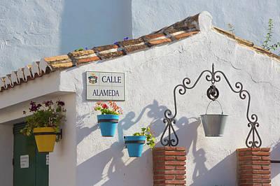 Cala De Mijas, Costa Del Sol, Spain Art Print by Ken Welsh