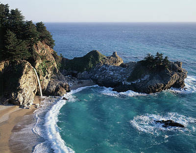 California, Big Sur Coast, Central Art Print by Christopher Talbot Frank
