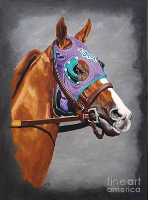 Painting - California Chrome by Pat DeLong
