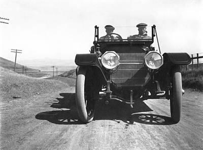 Young Man Photograph - California El Camino Highway by Arthur Spaulding Company