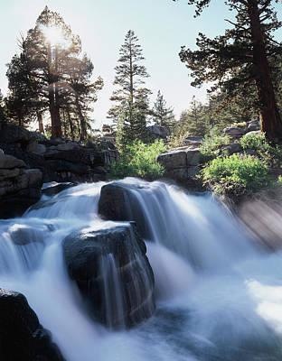 California, Sierra Nevada Mountains Art Print