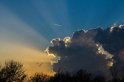 Photograph - Calm Before The Storm by Jeff Mize