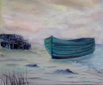 Seagrass Painting - Calm by Robert Benton