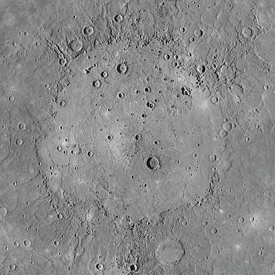 Impact Photograph - Caloris Basin by Nasa/johns Hopkins University Applied Physics Laboratory/carnegie Institution Of Washington
