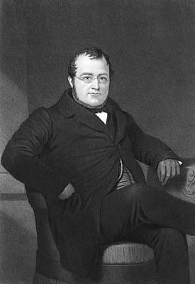 Camillo Benso Cavour (1810-1861) Art Print