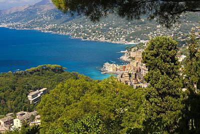 Golfo Paradiso Photograph - Camogli by Sebastian Wasek