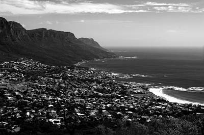 Photograph - Camps Bay Vista by Aidan Moran