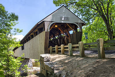 Photograph - Blair Covered Bridge by Betty  Pauwels