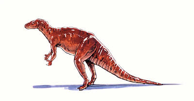 Paleozoology Photograph - Camptosaurus Dinosaur by Deagostini/uig