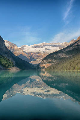 Victoria Land Photograph - Canada, Banff National Park, Lake by Jamie and Judy Wild