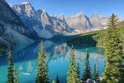 Canada, Banff National Park, Valley Art Print