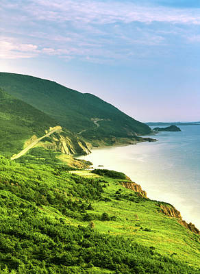 Cape Breton Island Photograph - Canada, Nova Scotia, Cape Breton by Walter Bibikow