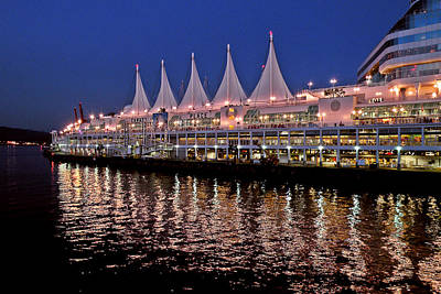 Photograph - Canada Place by Brian Chase