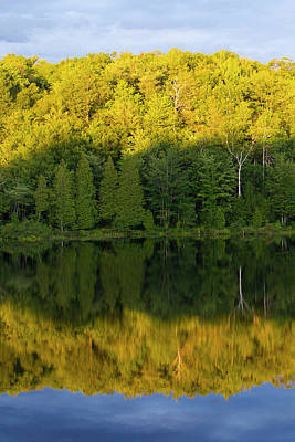 Quebec Photograph - Canada, Quebec, Lake Long Pond by Jaynes Gallery