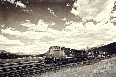Canada Rail Art Print