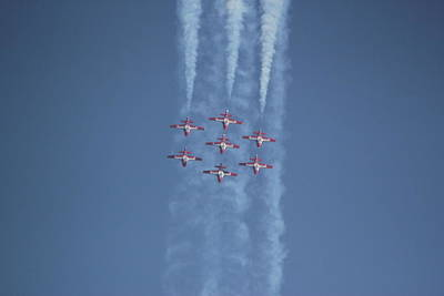 Digital Art - Canada Snowbirds by Photographic Art by Russel Ray Photos
