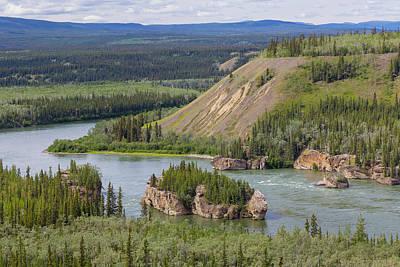 Yukon River Photograph - Canada, Yukon Territory by Jaynes Gallery