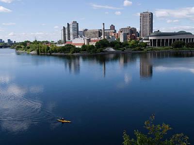 Gatineau Photograph - Canadas Capital, Ottawa by Scott Warren