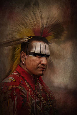 Photograph - Canadian Aboriginal Man by Eduardo Tavares