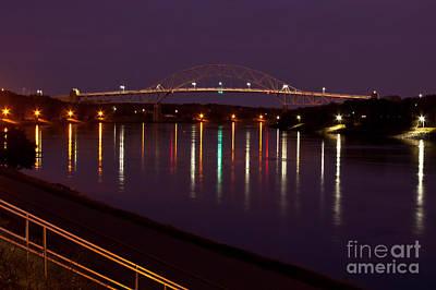 Photograph - Canal At Night by Wayne Valler