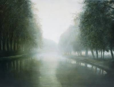 Painting - Canal Du Midi by Thomas Darnell