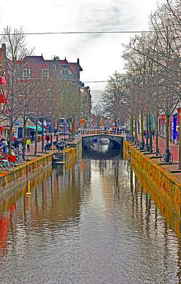 Photograph - Canal Of Delft by Elvis Vaughn