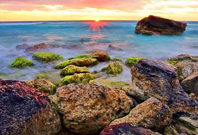 Sunrise Photograph - Cancun Sunrise by Marcia Colelli