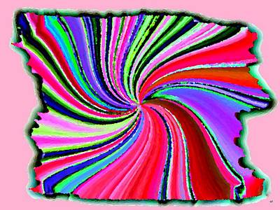 Digital Art - Candid Color 20 by Will Borden