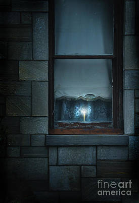 Photograph - Candle In The Window by Jill Battaglia