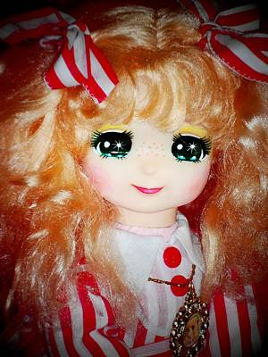 Candy Candy Doll Photograph - Candy Candy Polistil Vintage Doll Detail by Donatella Muggianu