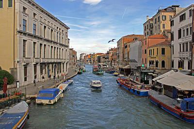 Photograph - Cannaregio Canal by Tony Murtagh