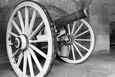 Photograph - Cannon Bw by Suzanne Luft