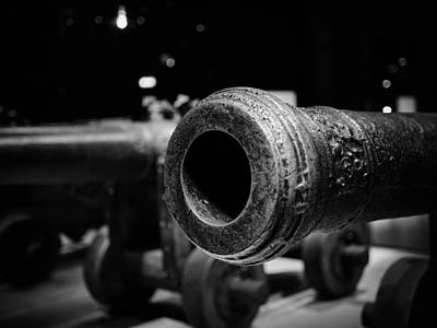 Photograph - Cannon. Wasa-museum. Stockholm 2014 by Jouko Lehto