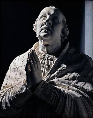 Canova Antonio, Pius Vi Praying, 1817 Print by Everett