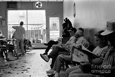 Canton Barber Shop 1997 Art Print