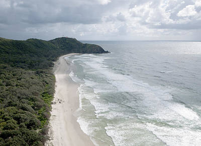 Photograph - Cape Byron And The Byron Lighthouse by Rob Huntley